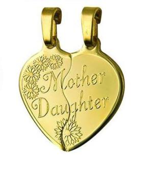 Shop online 9ct gold large mother daughter heart break share pendant 9ct gold large mother daughter heart break share pendant aloadofball Images