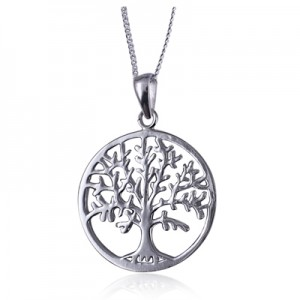 Sterling Silver Tree of Life Pendant with Necklace