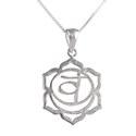 Amante Sterling Silver Svadhisthana - Second Chakra Pendant