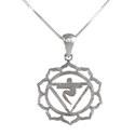 Amante Sterling Silver Manipura - Solar Plexus Chakra Pendant