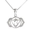 Amante Sterling Silver Ajna - Third Eye Chakra Pendant