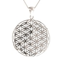 Amante Sterling Silver Flower of Life Pendant