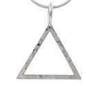 Amante Sterling Silver Alchemical Element Of Fire Pendant