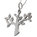 Amante Silver Tree of Life Pendant