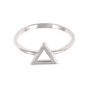 Amante Sterling Silver Element Of Fire Ring