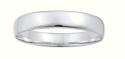 Amante Solid Sterling  Silver 15mm Wide Cushion Fit Bangle- 64mm