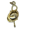 9ct Gold Cap and Crop Charm