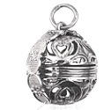 Sterling Silver 6 Photo Filigree Photo Ball Locket