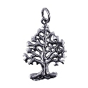 Sterling Silver Oxidised Tree Of Life Pendant