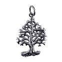 Sterling Silver Oxidised Tree Of Life Pendant