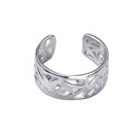 Amante Sterling Silver Filigree Toe Ring