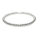 Hot Special Sterling Silver Ball Necklace - 45cm