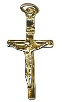 9ct Gold  Crucifix Pendant