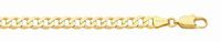 9ct Gold Open Curb Necklace -45cm